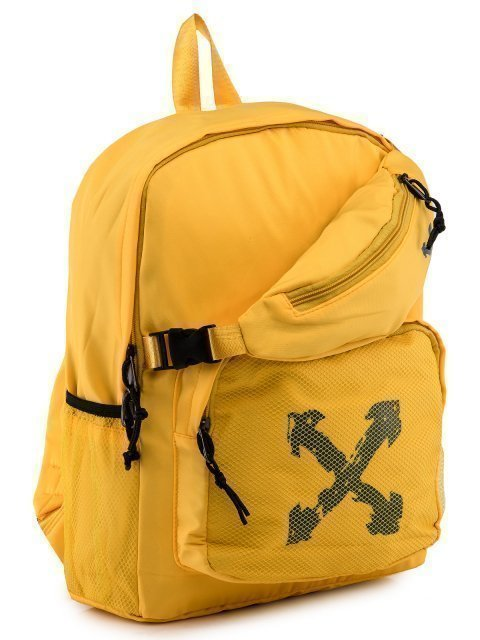 Жёлтый рюкзак Angelo Bianco (Анджело Бьянко) - артикул: 0К-00028782 - ракурс 1
