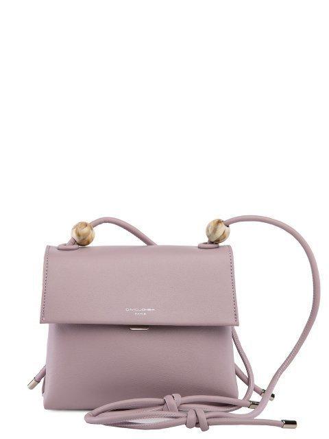 Сиреневая сумка планшет David Jones - 2299.00 руб
