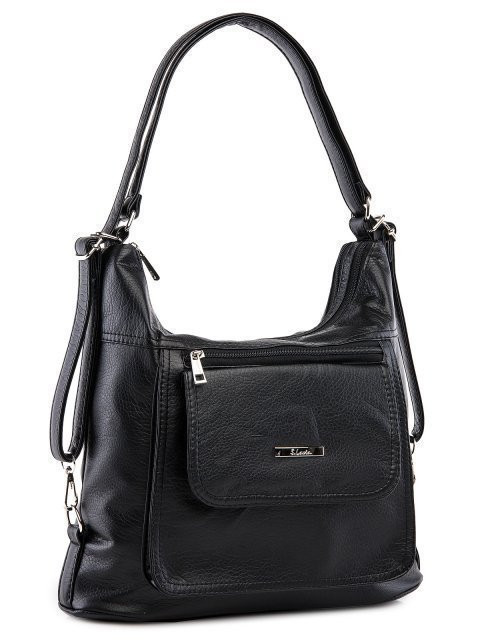 Чёрная сумка мешок S.Lavia (Славия) - артикул: 980 601 01 - ракурс 1