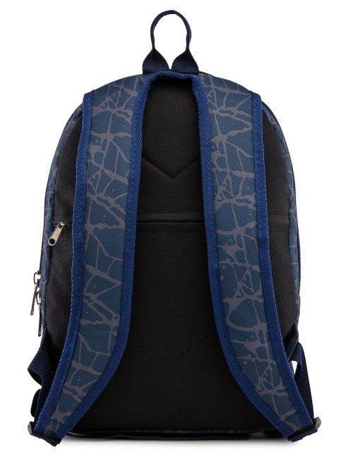 Синий рюкзак Lbags (Эльбэгс) - артикул: 0К-00028665 - ракурс 3