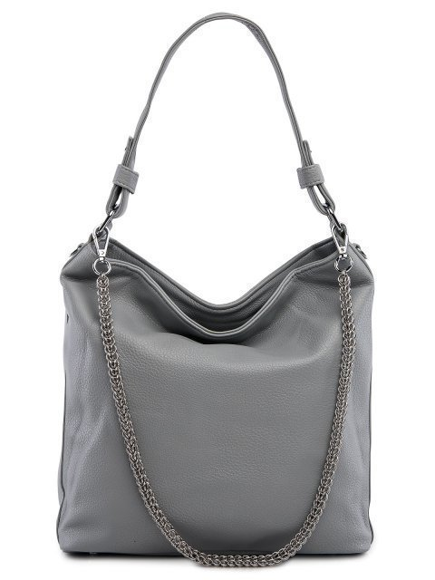 Серая сумка мешок Polina - 3199.00 руб