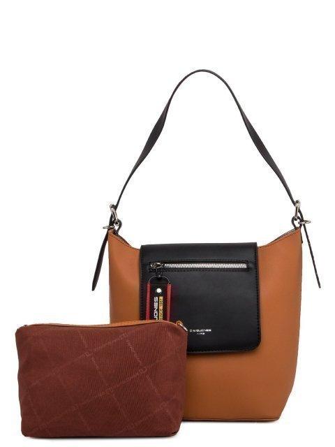 Рыжая сумка мешок David Jones - 2519.00 руб