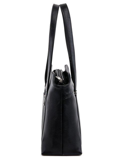 Чёрная сумка классическая S.Lavia (Славия) - артикул: 1139 901 01 - ракурс 2