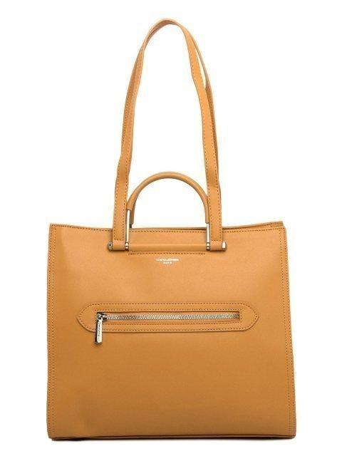 Жёлтая сумка классическая David Jones - 2699.00 руб