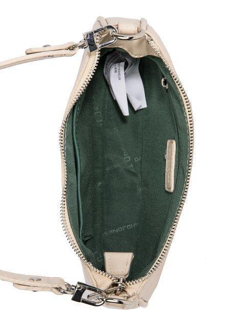 Бежевая сумка планшет David Jones (Дэвид Джонс) - артикул: 0К-00026251 - ракурс 4