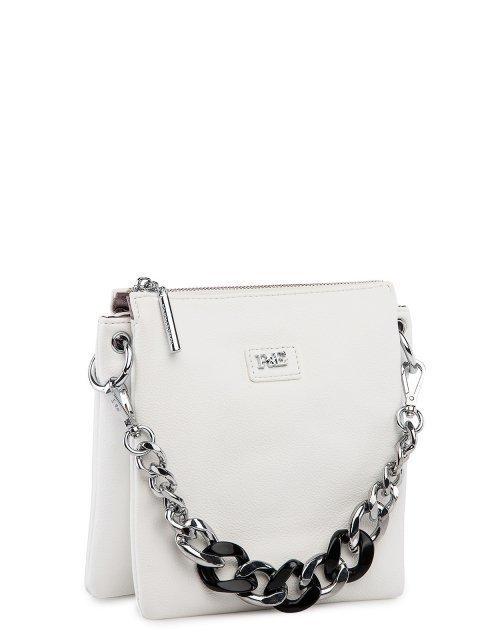 Белая сумка планшет Polina (Полина) - артикул: 0К-00027757 - ракурс 1