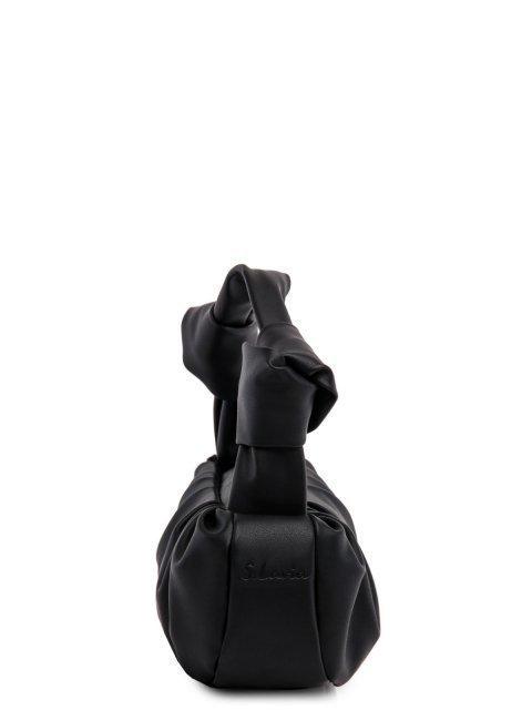 Чёрная сумка классическая S.Lavia (Славия) - артикул: 1211 777 01 - ракурс 2