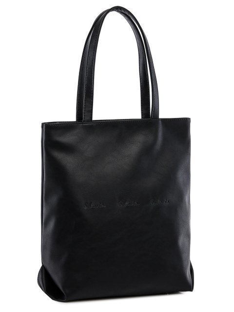 Чёрный шоппер S.Lavia (Славия) - артикул: 1219 323 01  - ракурс 1