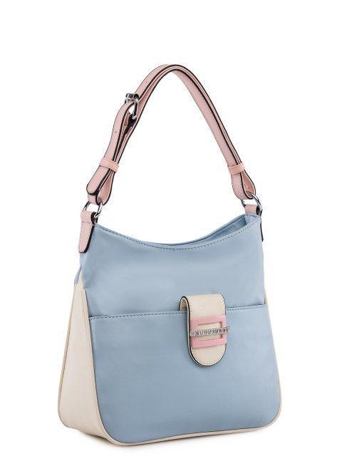 Голубая сумка мешок Fabbiano (Фаббиано) - артикул: 0К-00025604 - ракурс 1