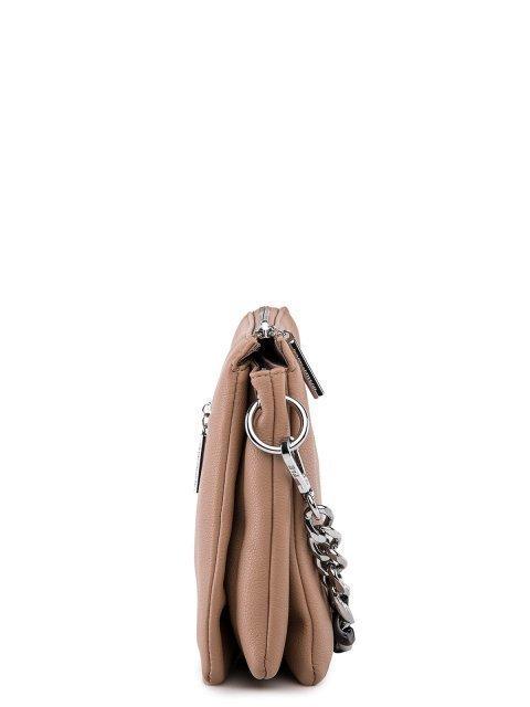 Бежевая сумка планшет Polina (Полина) - артикул: 0К-00027761 - ракурс 2