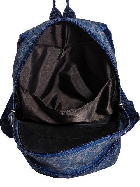 Синий рюкзак Lbags (Эльбэгс) - артикул: 0К-00028665 - ракурс 4