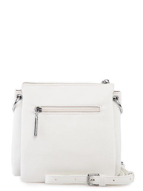 Белая сумка планшет Polina (Полина) - артикул: 0К-00027757 - ракурс 3