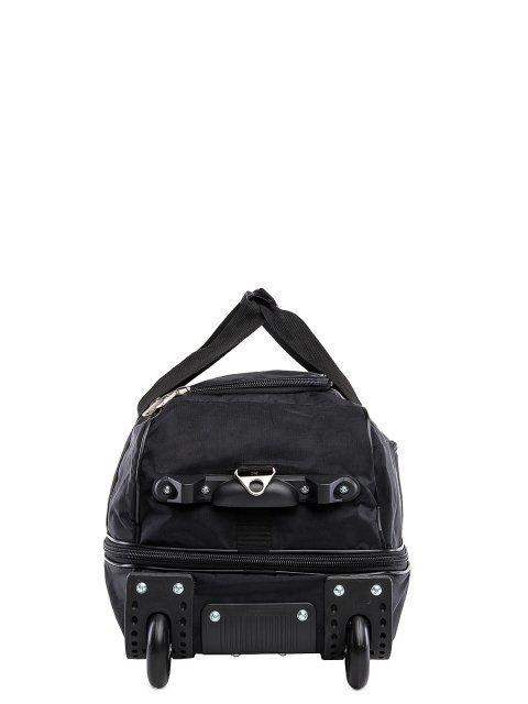 Чёрный чемодан Lbags (Эльбэгс) - артикул: К0000015902 - ракурс 2