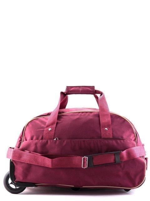 Бордовый чемодан Lbags - 2390.00 руб
