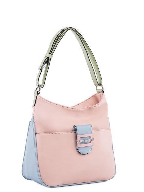 Розовая сумка мешок Fabbiano (Фаббиано) - артикул: 0К-00025608 - ракурс 1