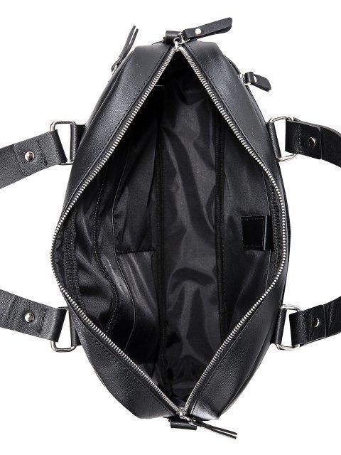 Чёрная сумка классическая S.Lavia (Славия) - артикул: 0055 10 01 - ракурс 4