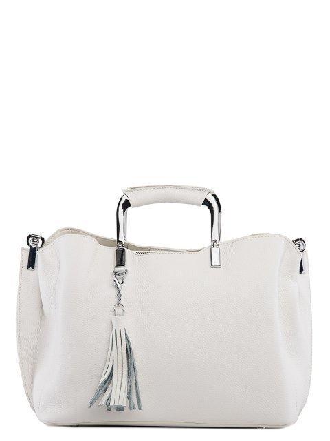Белая сумка классическая Polina - 5850.00 руб