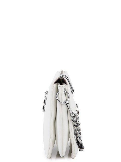 Белая сумка планшет Polina (Полина) - артикул: 0К-00027757 - ракурс 2
