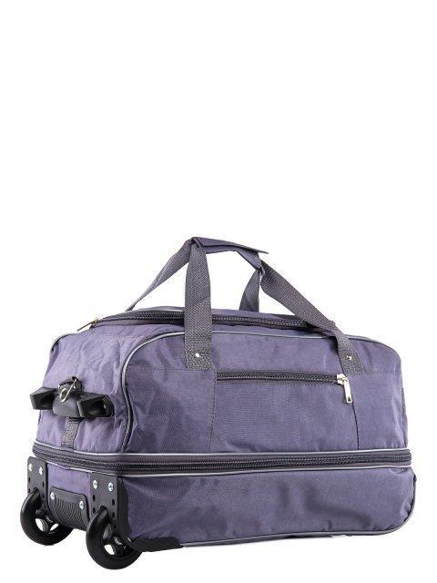 Серый чемодан Lbags (Эльбэгс) - артикул: К0000015921 - ракурс 1