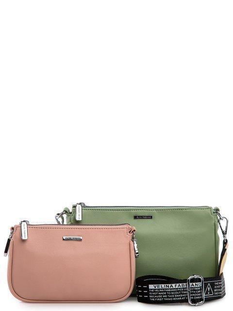 Зелёная сумка планшет Fabbiano - 3399.00 руб