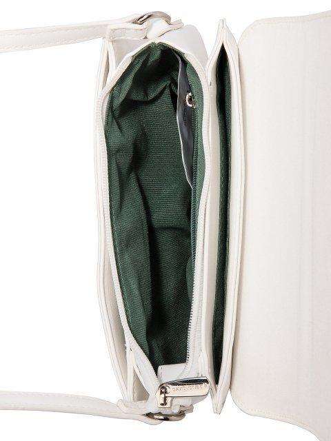 Белая сумка планшет David Jones (Дэвид Джонс) - артикул: 0К-00026149 - ракурс 4