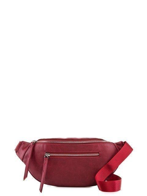 Бордовая сумка на пояс S.Lavia - 1329.00 руб