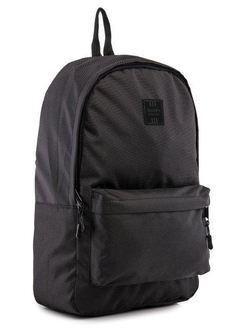 Чёрный рюкзак Lbags (Эльбэгс) - артикул: 0К-00029121 - ракурс 1