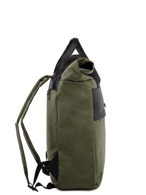 Зелёный рюкзак S.Lavia (Славия) - артикул: 00-91 000 35 - ракурс 2