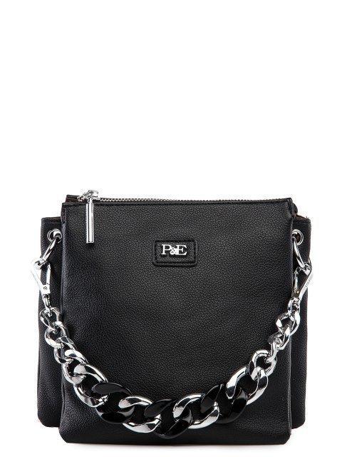 Чёрная сумка планшет Polina - 3837.00 руб