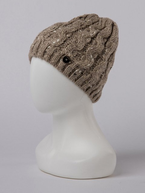 Бежевая шапка Classic - 699.00 руб