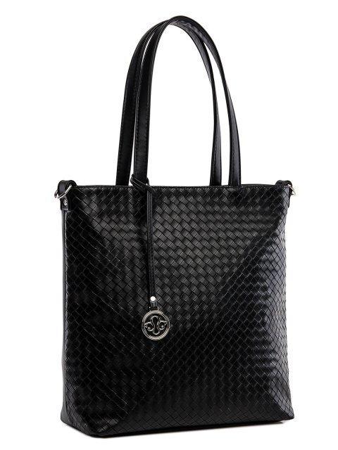 Чёрная сумка классическая S.Lavia (Славия) - артикул: 1242 932 01  - ракурс 1