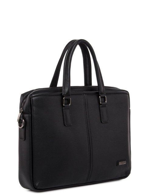 Чёрная сумка классическая Bradford (Брэдфорд) - артикул: 0К-00016704 - ракурс 1