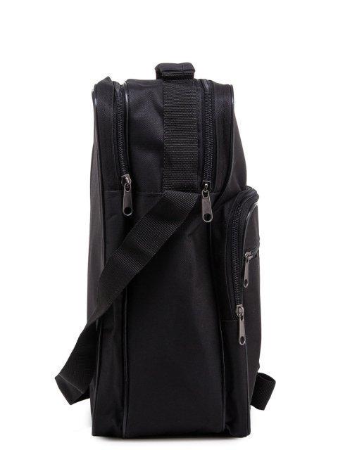 Чёрная сумка планшет S.Lavia (Славия) - артикул: 0К-00005234 - ракурс 2