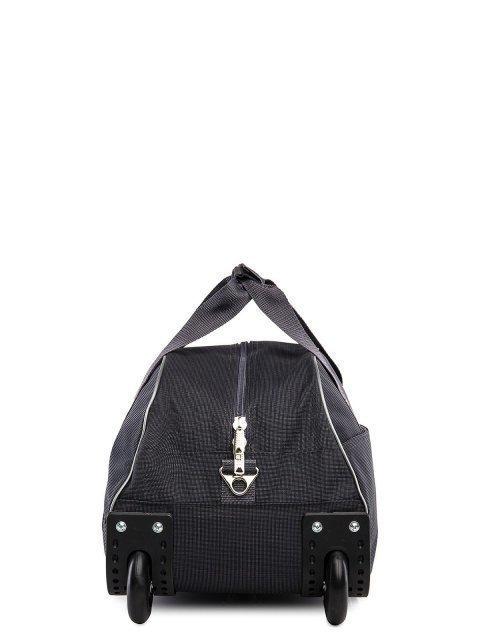 Серый чемодан Lbags (Эльбэгс) - артикул: К0000015899 - ракурс 2