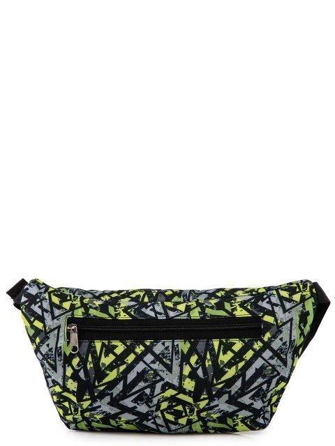 Зелёная сумка на пояс Lbags (Эльбэгс) - артикул: 0К-00027787 - ракурс 3