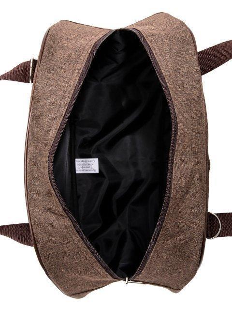 Коричневая дорожная сумка Lbags (Эльбэгс) - артикул: 0К-00022015 - ракурс 4