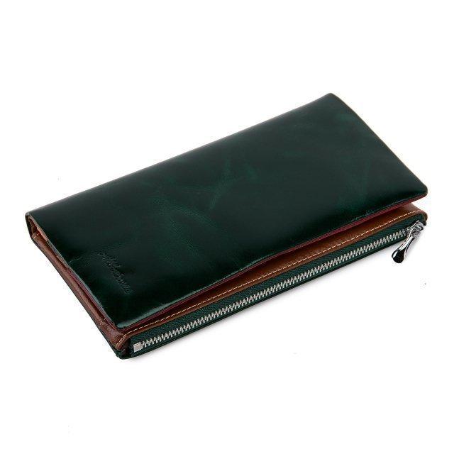 Зелёное портмоне Barez - 2490.00 руб