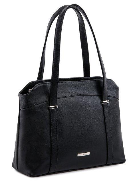 Чёрная сумка классическая S.Lavia (Славия) - артикул: 1139 901 01 - ракурс 1