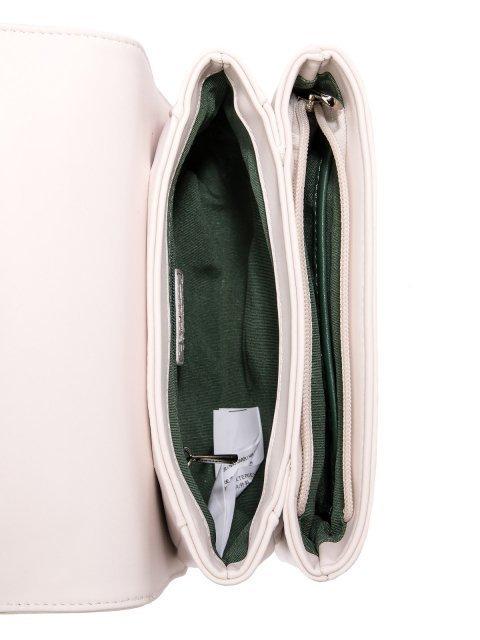 Белая сумка планшет David Jones (Дэвид Джонс) - артикул: 0К-00026142 - ракурс 4