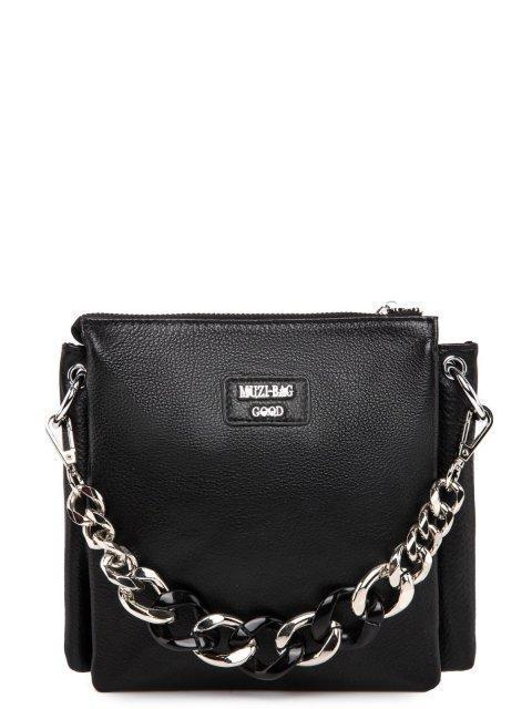Чёрная сумка планшет Polina - 5397.00 руб