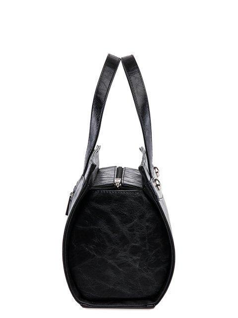 Чёрная сумка классическая S.Lavia (Славия) - артикул: 711 048 01 - ракурс 3