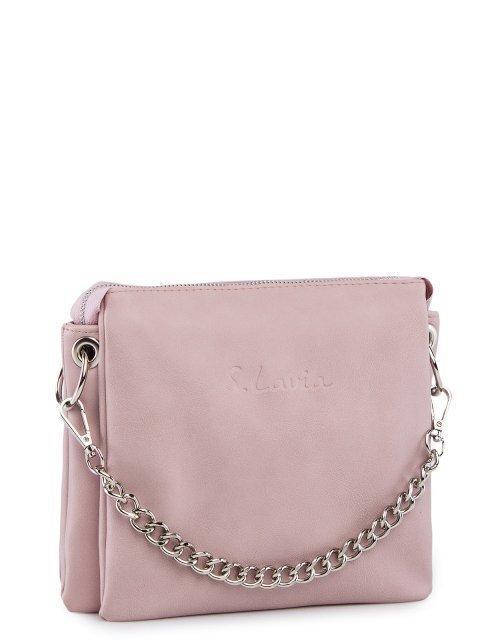 Розовая сумка планшет S.Lavia (Славия) - артикул: 1232 910 41 - ракурс 1