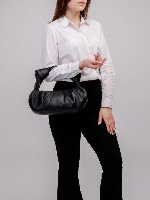 Чёрная сумка классическая S.Lavia (Славия) - артикул: 1211 777 01 - ракурс 5