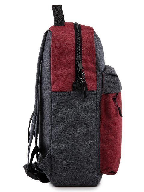 Бордовый рюкзак S.Lavia (Славия) - артикул: 00-101 00 03 - ракурс 2