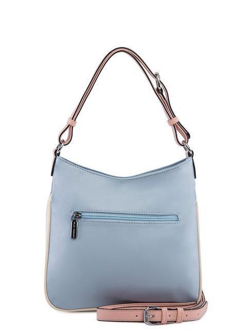 Голубая сумка мешок Fabbiano (Фаббиано) - артикул: 0К-00025604 - ракурс 3