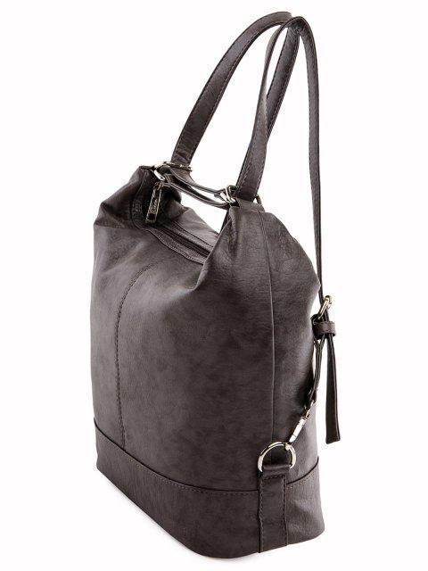 Коричневая сумка мешок S.Lavia (Славия) - артикул: 869 601 12 - ракурс 4