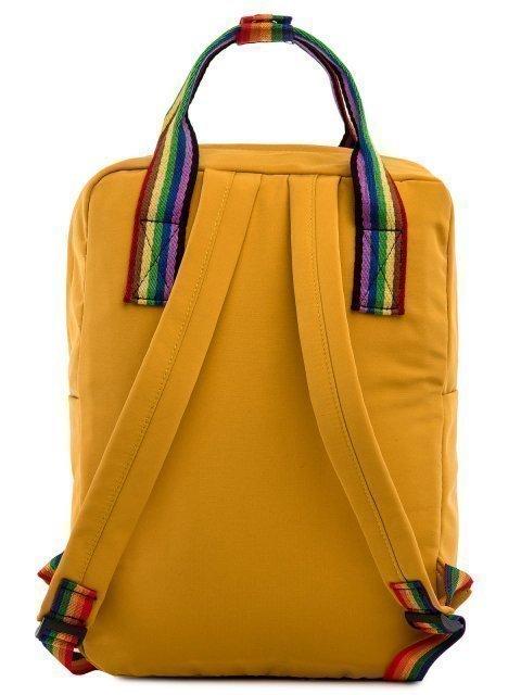 Жёлтый рюкзак Kanken (Kanken) - артикул: 0К-00027415 - ракурс 3