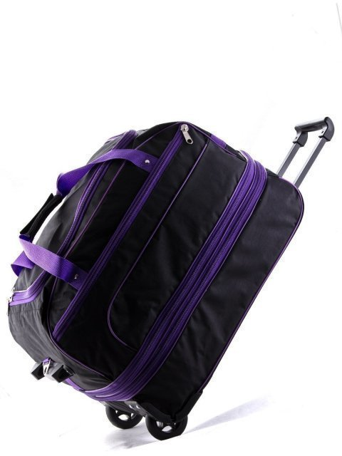 Чёрный чемодан Lbags (Эльбэгс) - артикул: К0000013247 - ракурс 5