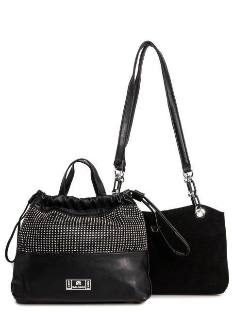 Чёрная сумка классическая Fabbiano - 4859.00 руб