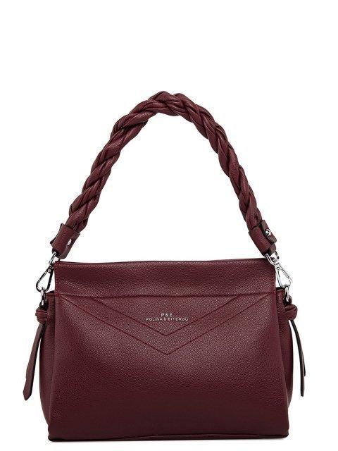 Бордовая сумка планшет Polina - 3499.00 руб